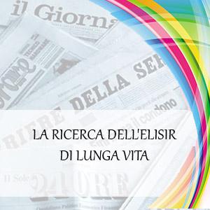 LA RICERCA DELL'ELISIR DI LUNGA VITA